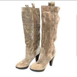 L' AUTRE CHOSE Suede slouch Boots